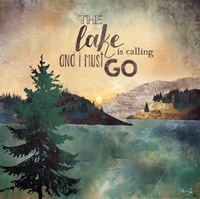 The Lake is Calling Fine Art Print