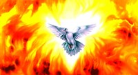 Holy Spirit Fire Fine Art Print