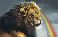 Lion Of Judah Fine Art Print
