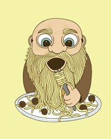 Papa Pasta Fine Art Print