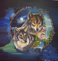 Magical Wolves Fine Art Print