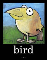 Bird Poster Framed Print