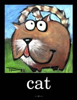 Cat Poster Fine Art Print