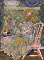 A Friend For Tea Fine Art Print