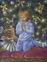 A Christmas Prayer Fine Art Print