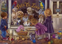 Pets To Love Fine Art Print