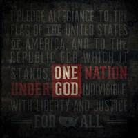 The Pledge Of Allegiance Fine Art Print