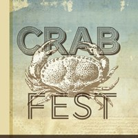 Crab Fest Framed Print