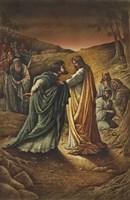 Judas Framed Print