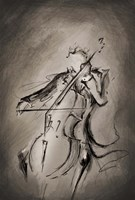 The Cellist Fine Art Print