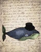 Big Whale Fine Art Print