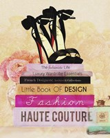 Fashionista Reads 2 Fine Art Print