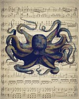 Octopus 1 Framed Print