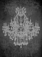 Chandelier I Framed Print