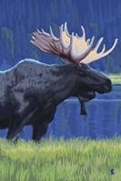 Moose 1 Fine Art Print