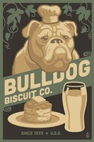 Bulldog Biscuit Co. Fine Art Print