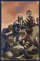 Vintage Football 4 Framed Print