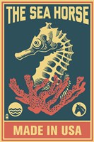 The Sea Horse Fine Art Print