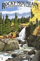 Alberta Falls Fine Art Print