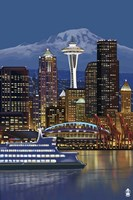Seattle Fine Art Print