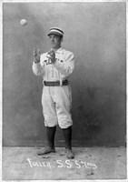 Vintage Baseball 21 Framed Print