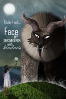 Face your Demons Fine Art Print