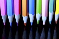 Floating Pencils Fine Art Print