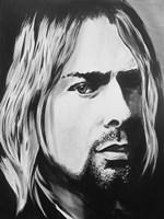 Kurt Cobain Framed Print
