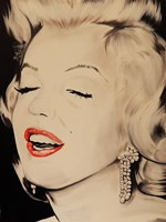 Breath taking Marilyn Framed Print