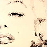 She Knows Marilyn Monroe Pop Art Fine Art Print