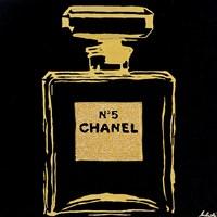 Chanel Black Urban Chic Fine Art Print