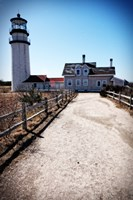 Highland Lighthouse Cape Cod MA Portrait Fine Art Print