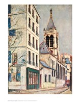 Church-St. Severin Fine Art Print