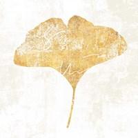 Bronzed Leaf III Framed Print