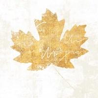 Bronzed Leaf IV Framed Print