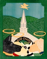 Dog Chapel II Fine Art Print