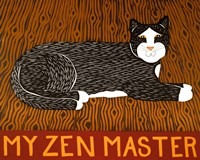 My Zen Master Fine Art Print