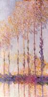 Poplars on the Banks of the Epte, 1891 Fine Art Print