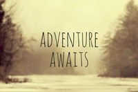 Adventure Awaits II Framed Print