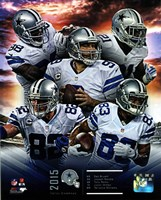 Dallas Cowboys 2015 Team Composite Fine Art Print