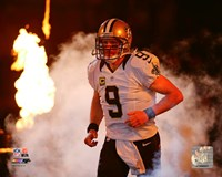 Drew Brees 2015 Action Fine Art Print