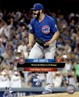 Jake Arrieta throws a No-Hitter August 30, 2015 Fine Art Print