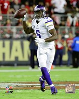 Teddy Bridgewater 2015 Action Fine Art Print