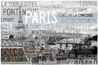 City Of Light Gray Fine Art Print