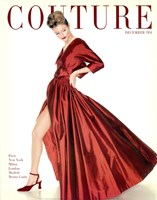 Couture December 1954 Fine Art Print