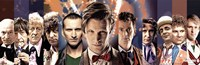 Doctor Who - The Doctors Fine Art Print