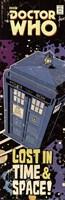Doctor Who - Tardis Comic Cover Fine Art Print