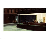 Nighthawks Fine Art Print