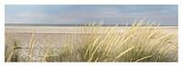 Island Sand Dunes Framed Print