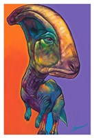Parasauroluphus Fine Art Print